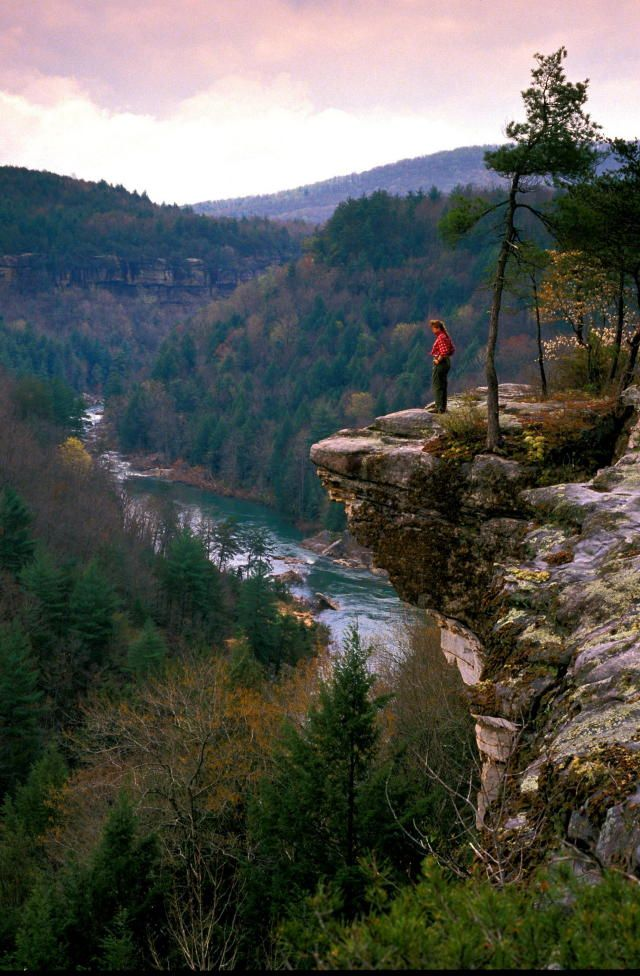 The Obed Wild and Scenic River Tennessee National Park. Wartburg, TN.
