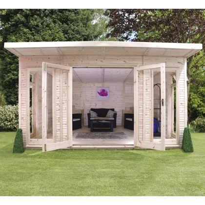 Mercia Insulated Garden Room - 13ft 9in x 15ft (With Installation)