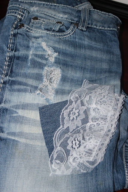 lace patches for jeans