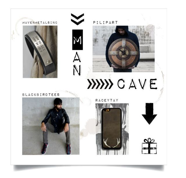 """Man Cave"" by pilipart ❤ liked on Polyvore"