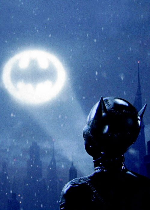 Batman Returns, Tim Burton's second and final Batman flick, had a brilliant cast and a very fun, very dark story. Love!