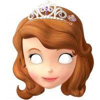 Masque de Princesse Sofia pour s'amuser avec ses amies