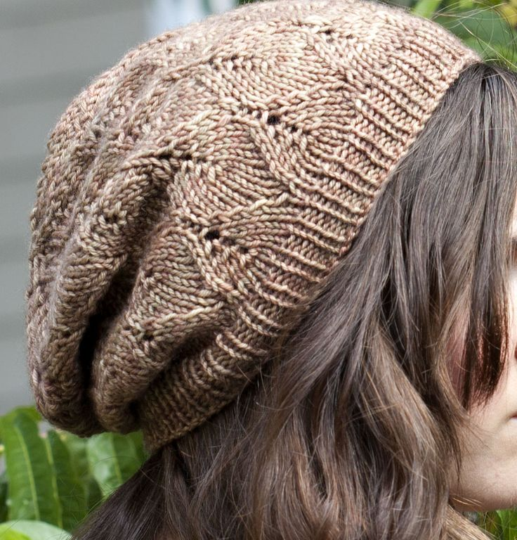 Free Knit Pattern Slouchy Hat : Autumn in Garrison Slouchy Hat by Kate Gagnon Osborn *Free pattern download ...