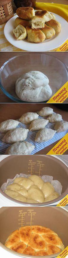 Пирожки в мультиварке (пошаговый рецепт с фото) — Кулинарный портал Печенюка