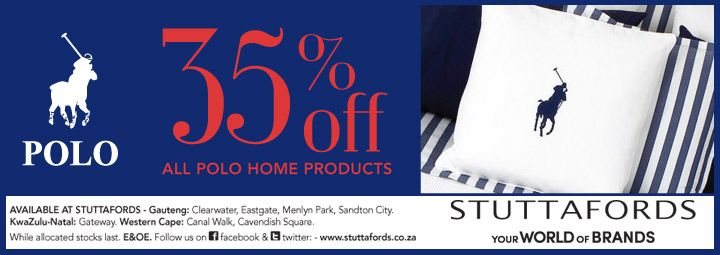 Who can resist a Polo home ware sale?