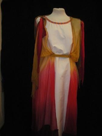Vestuario mujer romana