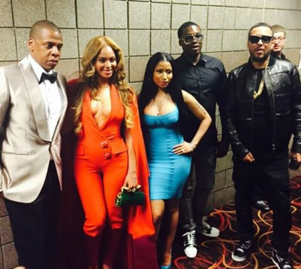 Photos: Beyonce, Jay-z, French Montana, Nicki Minaj and Meek Mill, Denzel Washington, other Hollywood stars flood MayPac epic fight - https://www.nollywoodfreaks.com/photos-beyonce-jay-z-french-montana-nicki-minaj-and-meek-mill-denzel-washington-other-hollywood-stars-flood-maypac-epic-fight/