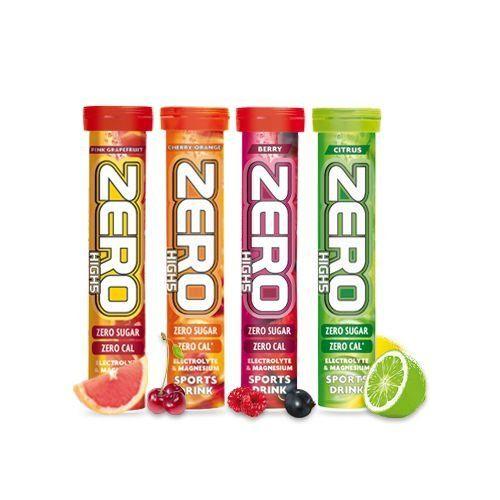Изотоник в шипучих таблетках High5 ZERO Легкий и освежающий спортивный напиток High5 ZERO со вкусом фруктов