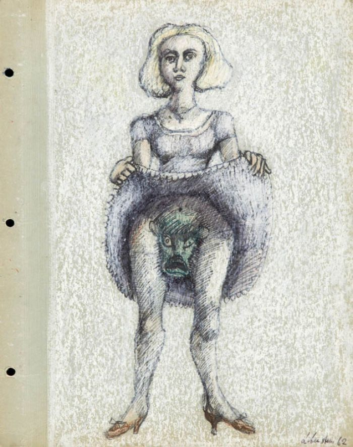 Jan Lebenstein - Kobieta, 1962 r.