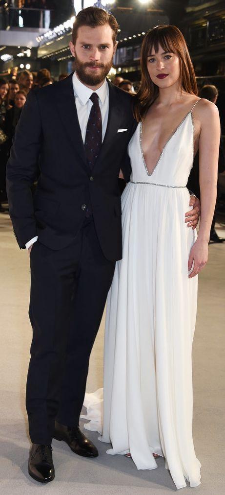 Dakota Johnson and Jamie Dornan   50 Shades of Grey