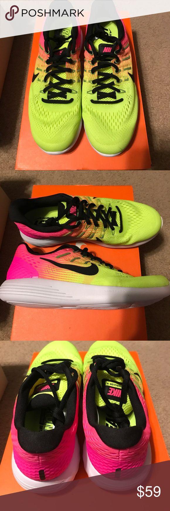 Women's Nike Lunarglide Brand New women's Nike Lunarglide 8 OC Nike Shoes Athletic Shoes