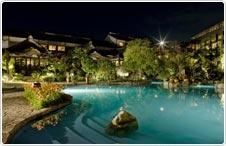 Hot springs in Miyazaki, Kyushu. 松泉宮(温泉) - フェニックス・シーガイア・リゾート