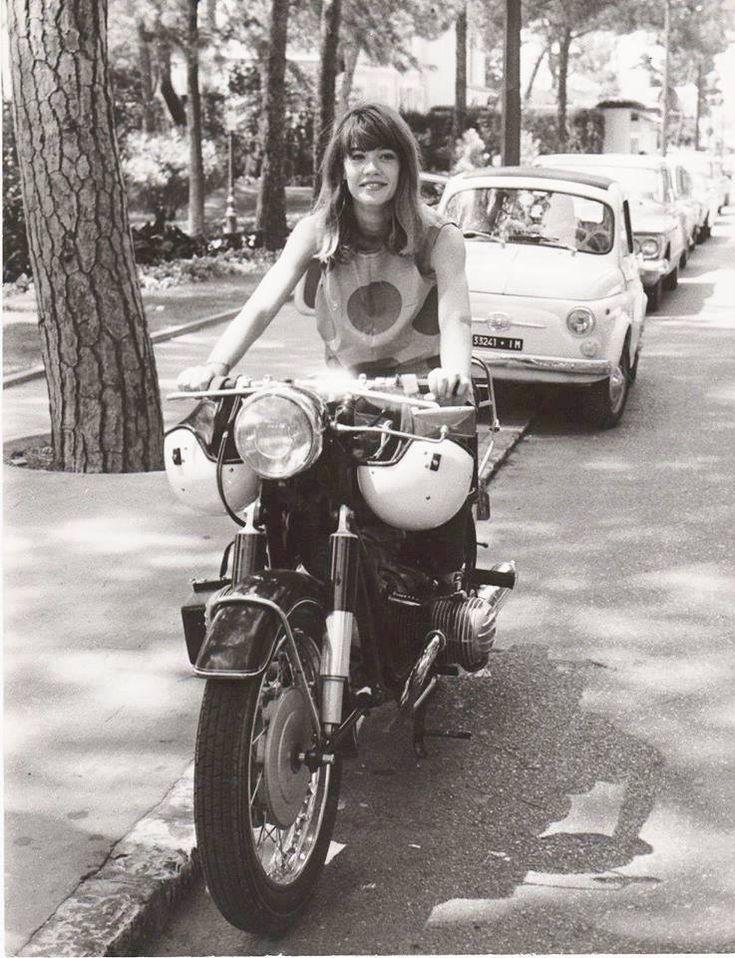 Resultado de imagen de vintage biker girls