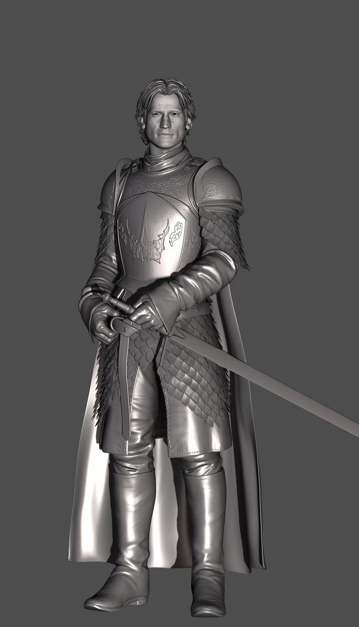 ArtStation - Jaime Lanister, The King Slayer, Zhanhua Liang