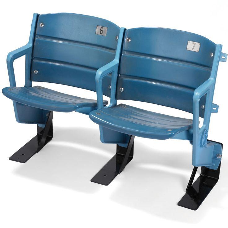 Good seats are still available! The Authentic #Yankee Stadium Seats - Hammacher Schlemmer