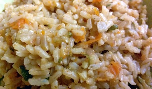 Summer Squash Pilaf: Squash Pilaf, Food, Summer Squash, Slow Cooker, Squashes, Healthy Recipes, Rice Cooker Recipes