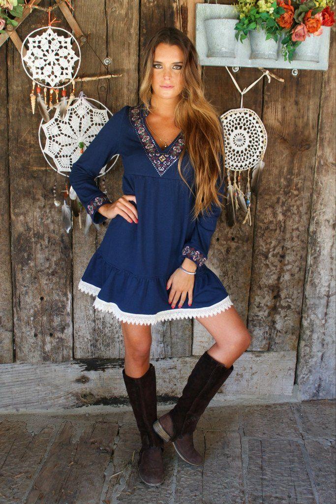 1 # Vestido Blue