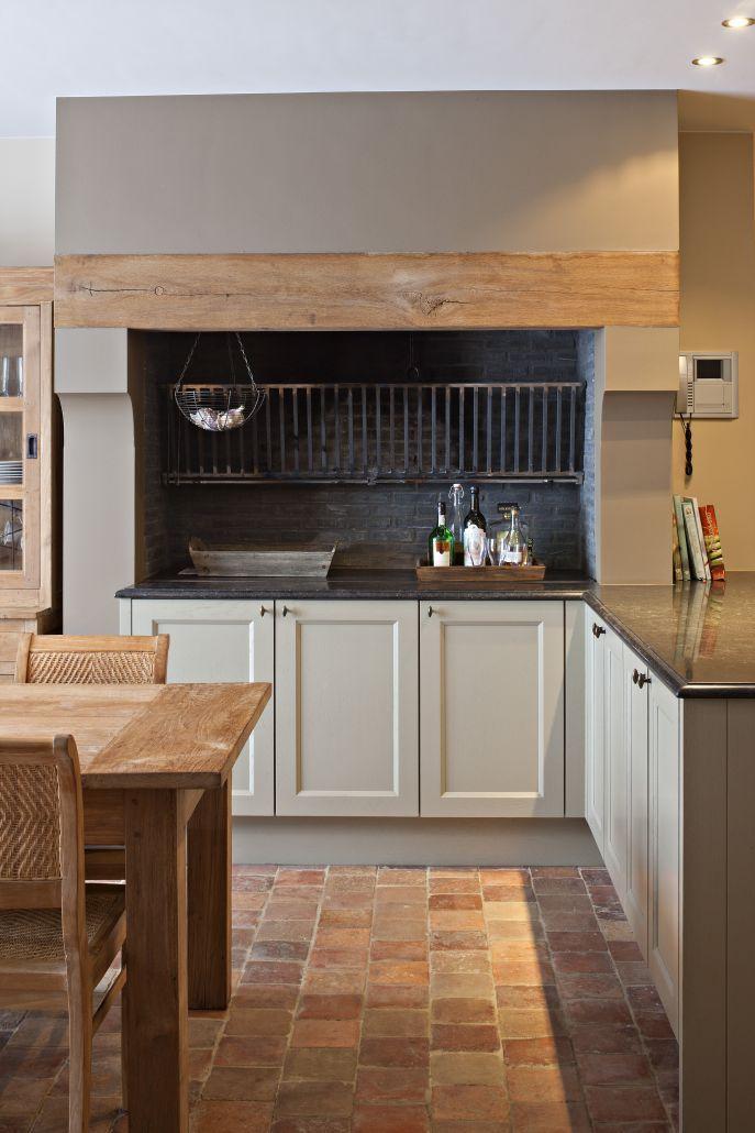 25 beste idee n over franse boerderij keukens op pinterest franse boerderij ontbijthoek - Landkeuken chique ...