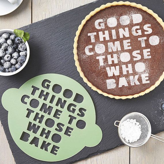 Those Who Bake Cake Stencil » How fun is this?!