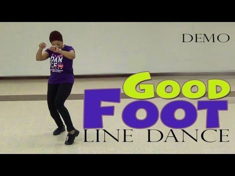 Good Foot (Pokey Bear) Line Dance by The Line Dance Queen-Demo - YouTube