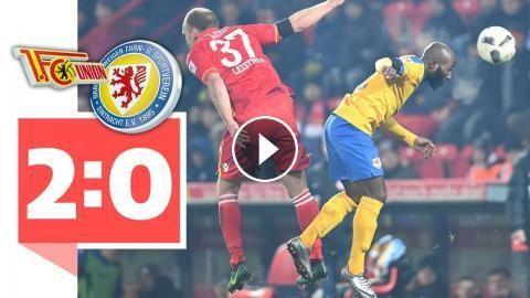 Union Berlin - Eintracht Braunschweig 2:0 / VfB Stuttgart ist wieder Tabellenführer: Union Berlin kämpft Eintracht Braunschweig 2:0 nieder,…