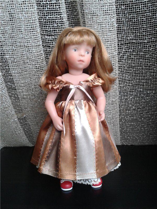 Шоколадно-карамельный микс для Minouche от Sylvia Natterer / Одежда для кукол / Шопик. Продать купить куклу / Бэйбики. Куклы фото. Одежда для кукол