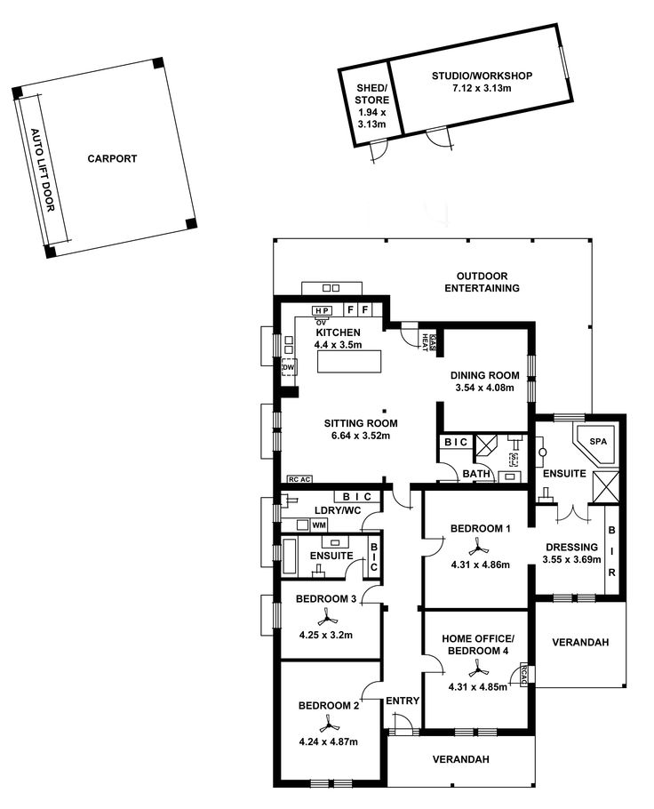Heritage house floor plan for extension adelaide