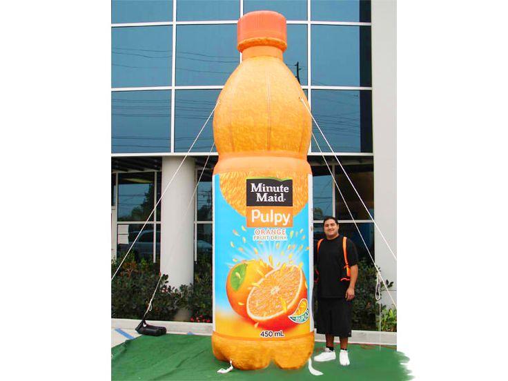 Inflables, Replicas De Minute Maid Botella -venta De Publicidad Inflable - Comprar Barato Precio De Inflables, Replicas De Minute Maid Botella - Fabrica Publicidad Inflable En Colombia