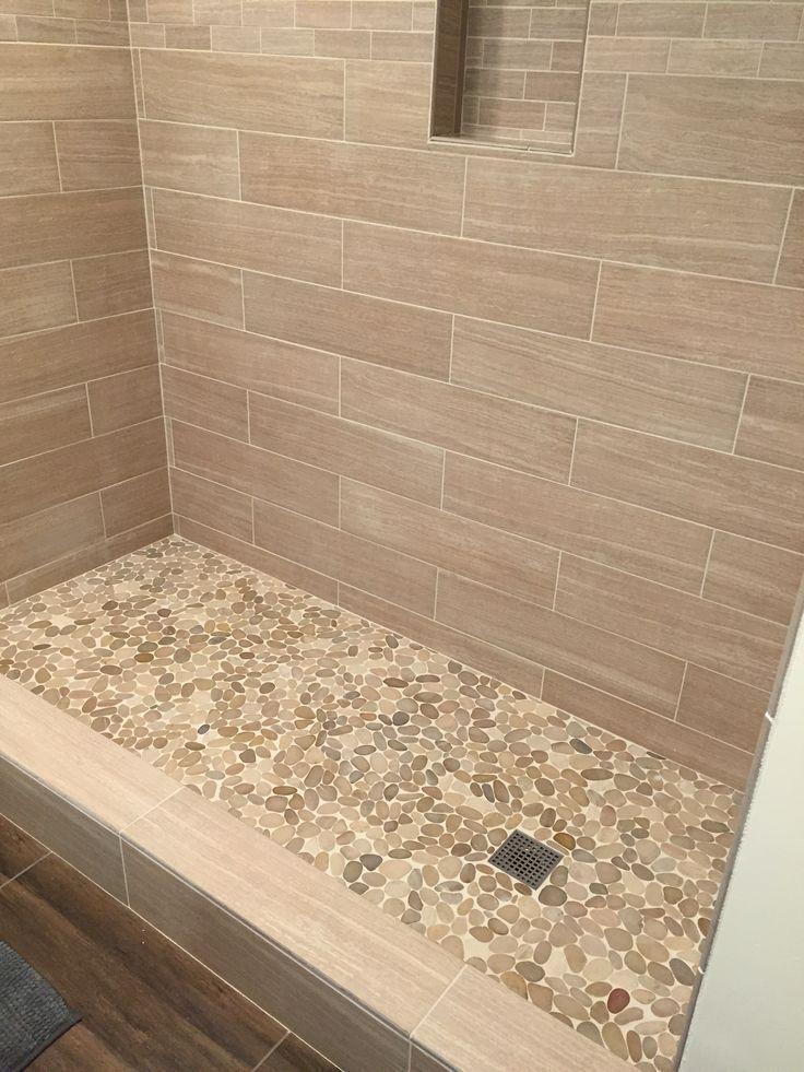 Die besten 25+ Braune Fliesenbadezimmer Ideen auf Pinterest Bad - modernes bad beige