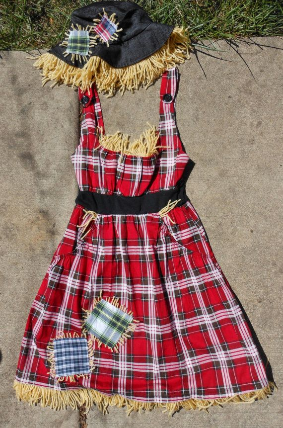 Miss Scarecrow. such a cute idea!