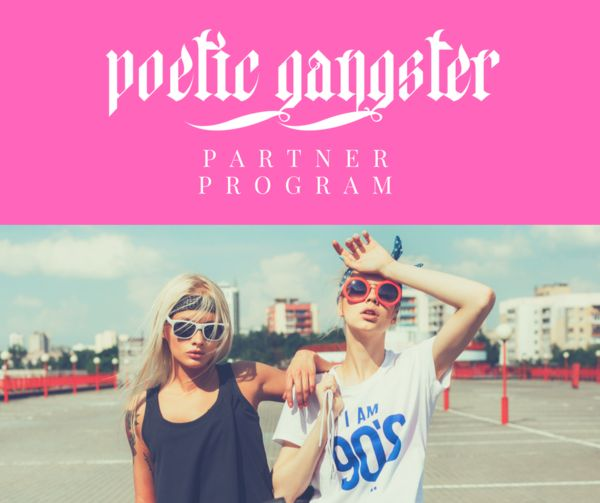 Become a Poetic Gangster Ambassador