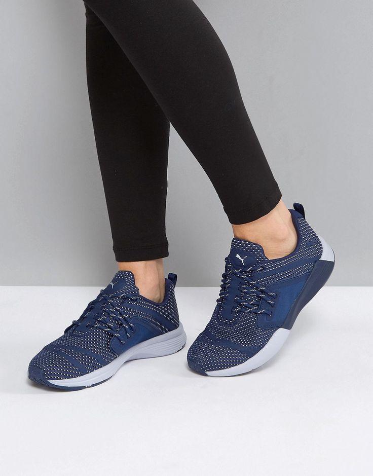 Puma Pulse Ignite Ex Sneakers In Blue - Blue