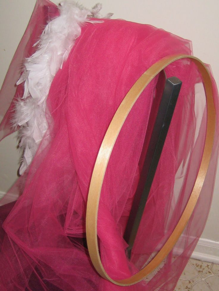 tulle canopy tutorial