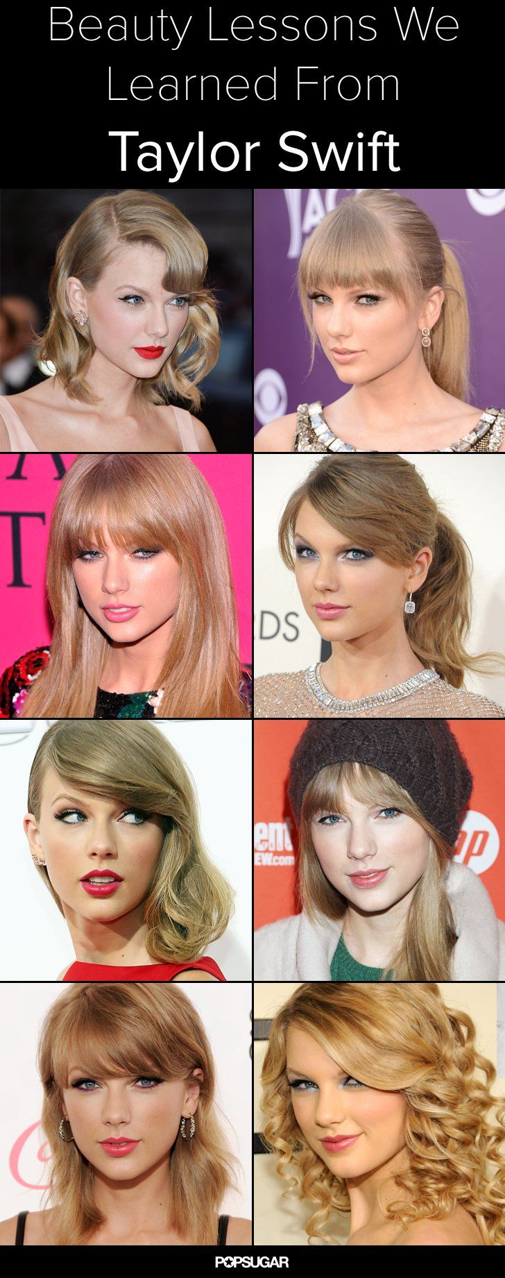 Pin for Later: 8 Ways to Look as Glamorous as Taylor Swift Every Day