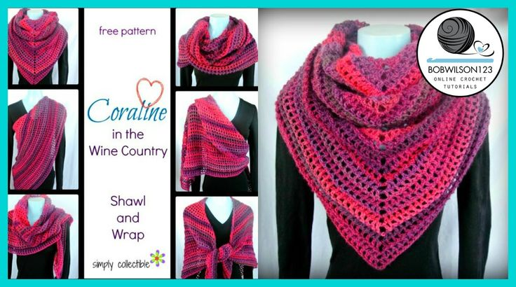 Crochet Shawl Tutorial - very easy crochet shawl tutorial on youtube with an Australian accent!