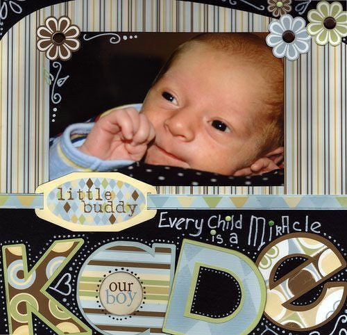 I need to remember to use different patterns in my titleScrapbook Ideas, Simple Layout, Scrapbooking Baby, Scrapbook Layouts, Baby Pics, White Dots, Baby Scrapbook, Scrapbooking Ideas, Scrapbook Baby