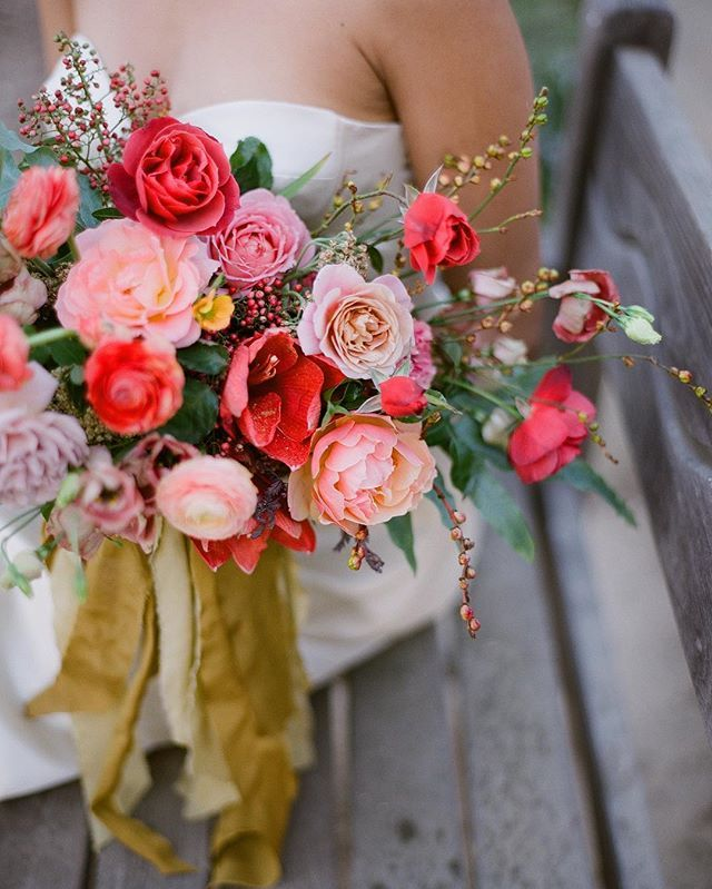 Tote Bag - Bouquet of flowers by VIDA VIDA 8Cu9C3da
