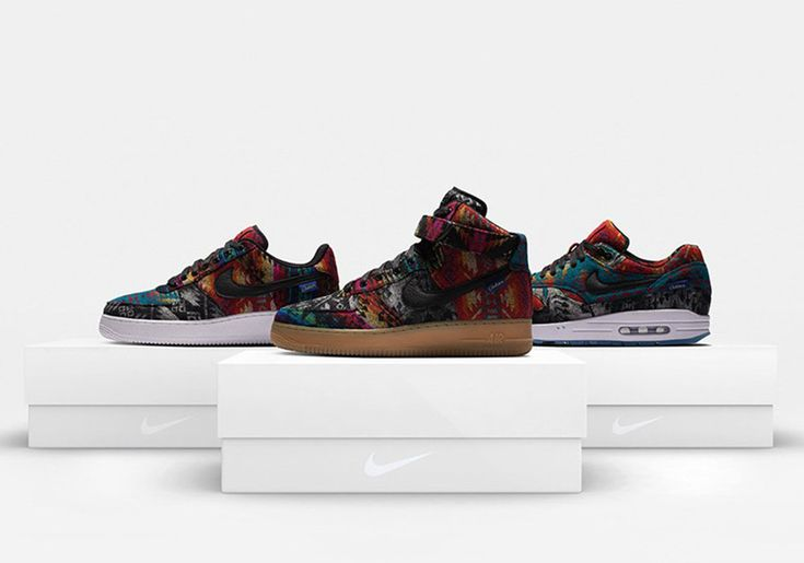 """A New """"What The"""" Pendleton Option Is Now Available On NIKEiD • KicksOnFire.com"""