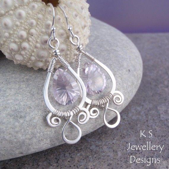 Wire Jewelry Tutorial SPIRAL LOOP FRAMES от KSJewelleryDesigns