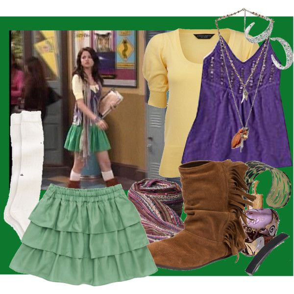 """Wizards of waverly place-Fairy tale :)"" by rememberdecember on Polyvore"