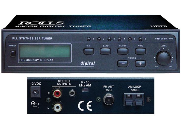 Rolls HR78 AM/FM Digital Tuner