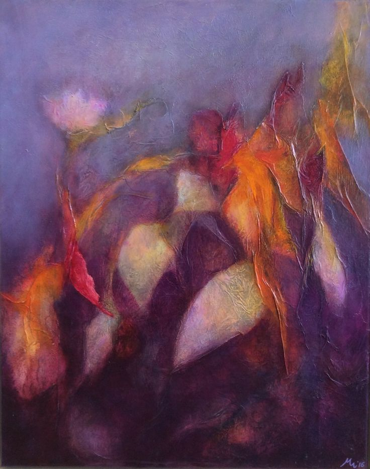 Abstract painting #mixed media on canvas #mirjamrinkel