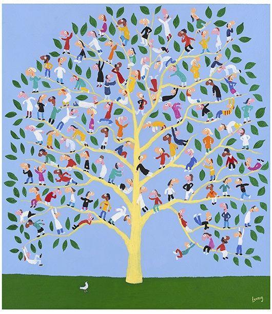 People Tree - Michael Leunig - Artists