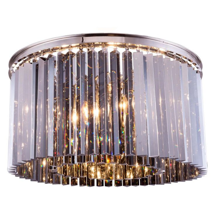 Urban Classic Sydney Collection 26 in. Flush Mount Chandelier - 1208F26MB