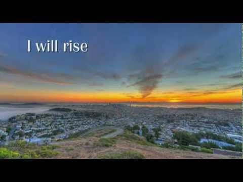 I will Rise sung by Chris Tomlin (With Lyrics) (HD) What a Blessing truly, healing sweet Jesus! <3~