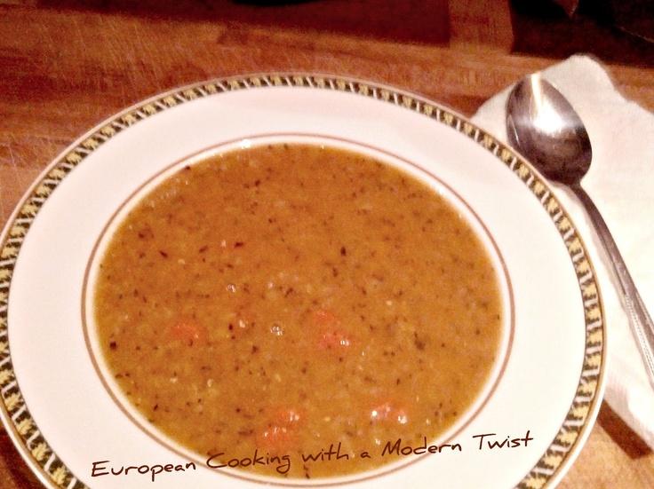 Red Lentil Soup ~ Ezo Gelin Çorbası