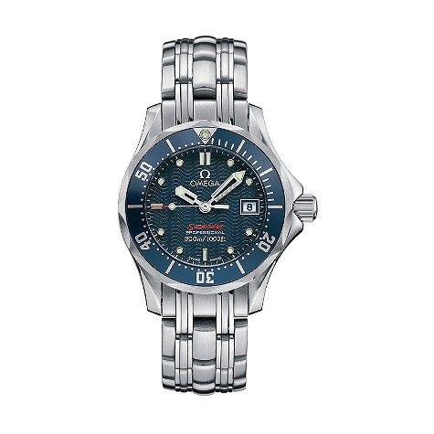Blue Omega Seamaster Ladies Watch