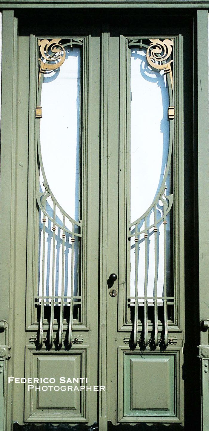 This door is located at the Karlsplatz Station in Vienna Austria. Circa Designed by Otto Wagner with the aid of Joseph Marian Olbrich. & 109 best Art Nouveau - Secession - Ironwork of Budapest Hungary ... Pezcame.Com