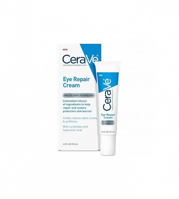 Dermatologist pick for sensitive skin // Eye Repair Cream by CeraVe