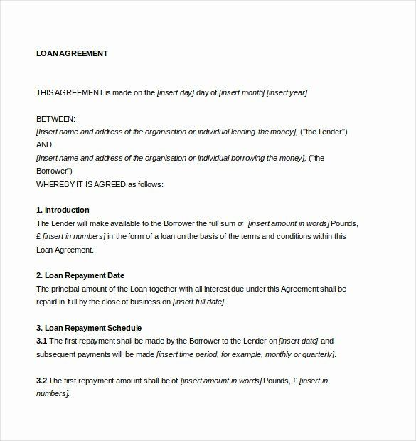 Loan Agreement Template Word Beautiful 14 Loan Agreement Templates Word Pdf Contract Template Lesson Plan Template Free Resume Template Professional
